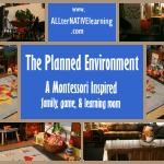 Planned Environment Montessori Ideas
