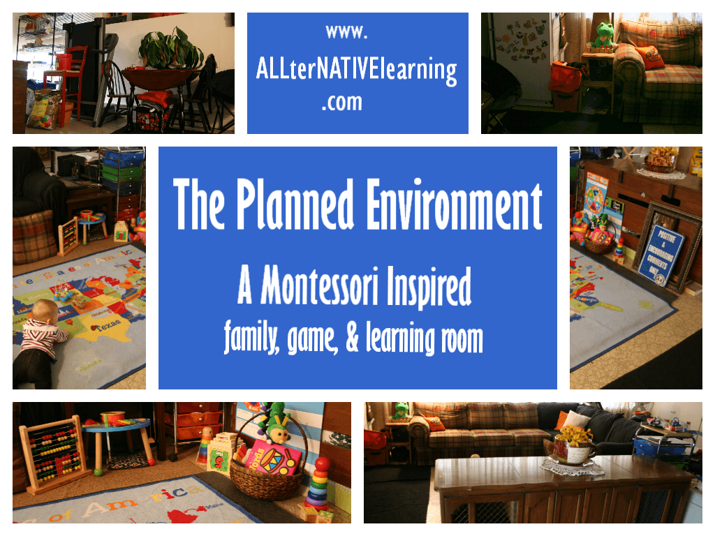 Planned Environment Montessori Ideas
