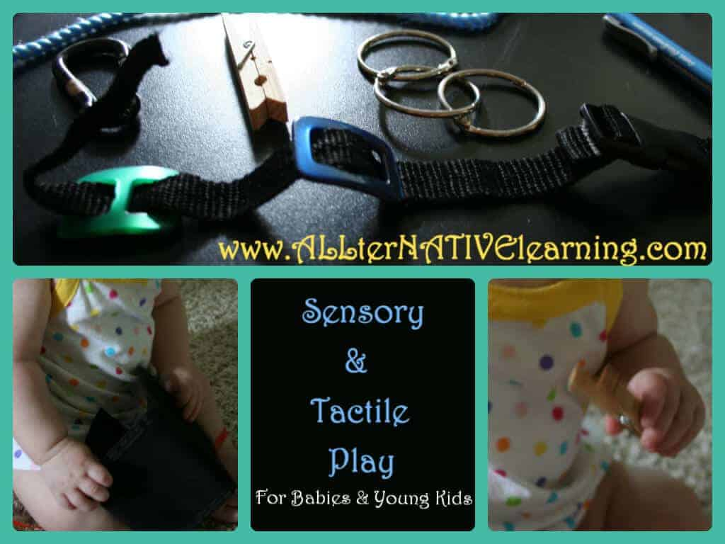 Household Learning Items – Sensory Boards, Bags, and Tubs