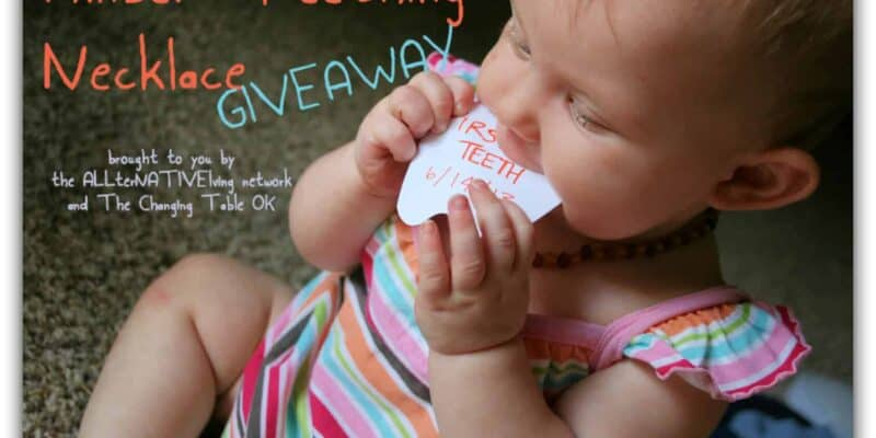 Amber Necklace Giveaway Teething Remedies