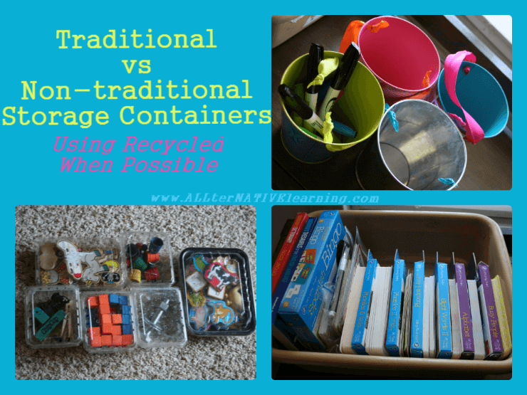 Storage from Recyclable Materials | ALLterNATIVElearning