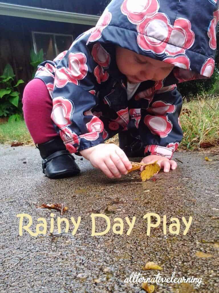 Rainy Day Play – Indoor and Outdoor Activities