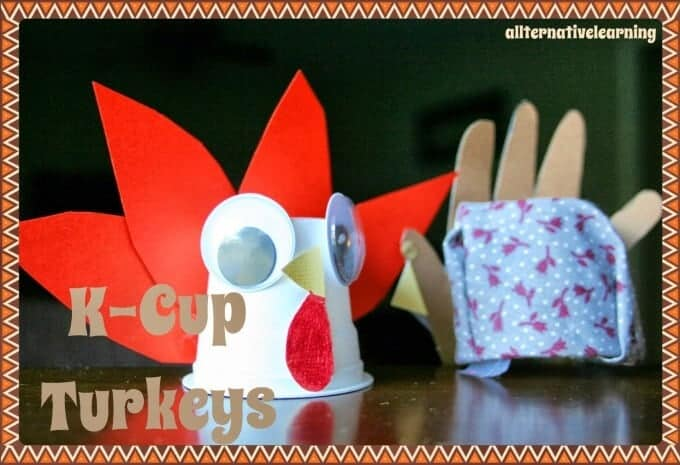 Autumn K Cup Recycle Crafts Ideas