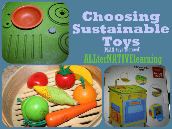 How to choose sustainable toys.