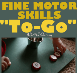 fine motor skills on the go