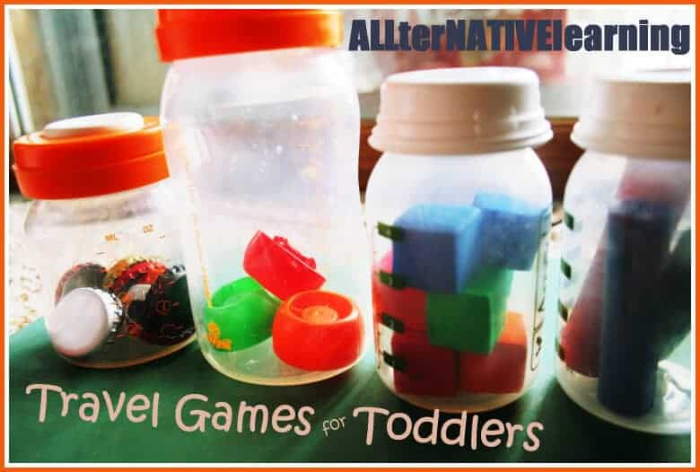 Travel games for babies and toddlers.