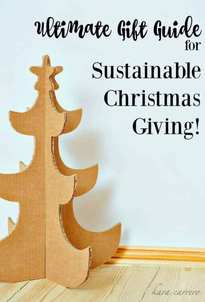 Are you an eco-friendly family or just minimalist? Here's a great guide for a sustainable Christmas.