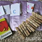 letter theme busy bag