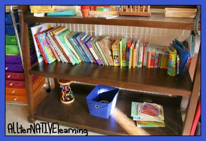toy and book rotations for kids