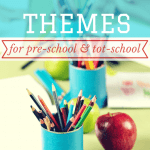 Learning Themes and Unit Studies for Tot-School & Pre-School | ALLterNATIVElearning.com