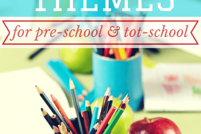 Learning Themes and Unit Studies for Tot-School & Pre-School   ALLterNATIVElearning.com