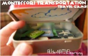 montessori travel game