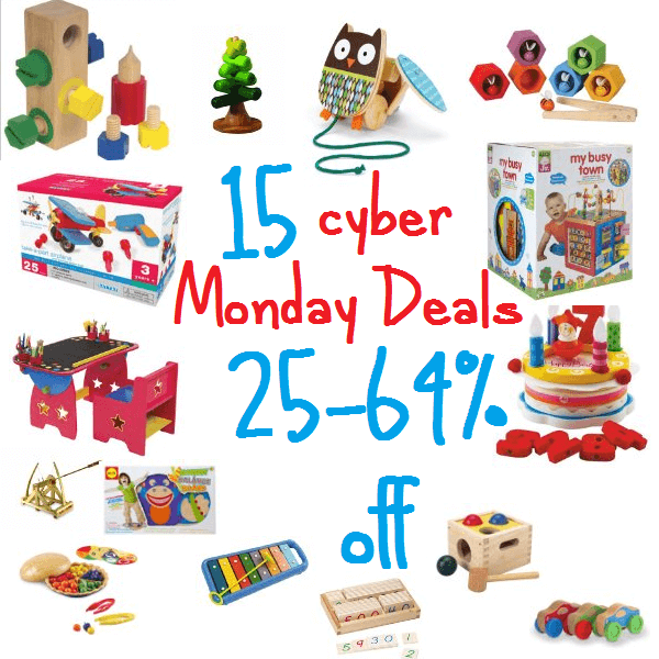 Cyber Monday wooden toy deals