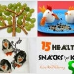 15 Cute & Healthy Kids snacks