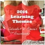 learning themes tot school montessori