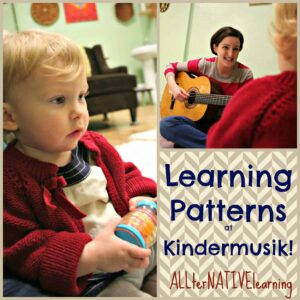 Patterns in music at kindermusik
