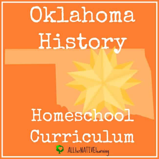 Oklahoma History Homeschool Curriculum
