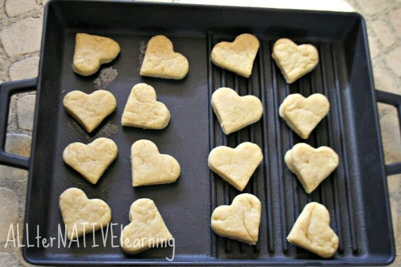 fluffy biscuit recipe heart shaped biscuits for valentines day