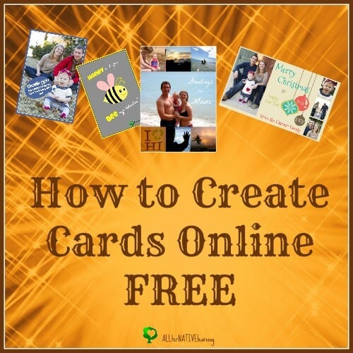 Multiple photo cards displayed - how to create cards online: allternativelearning.com/how-to-create-cards-online-free
