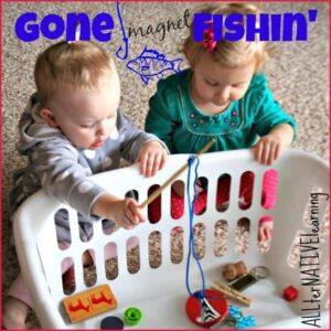 Magnet Fishing: ALLterNATIVElearning.com Tot School