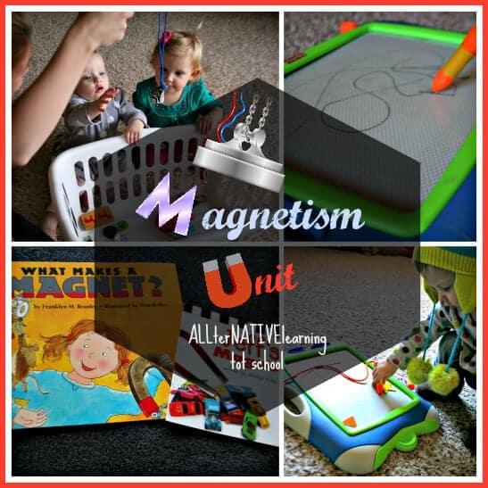 Magnetism Unit ALLterNATIVElearning.com Tot School
