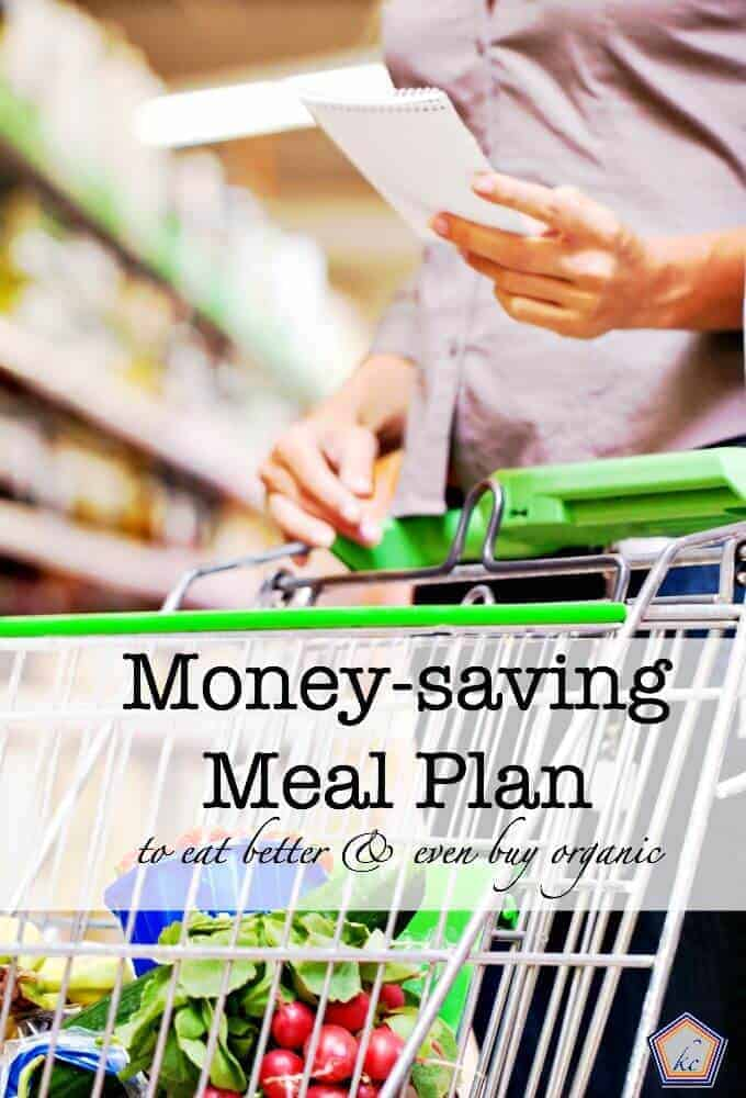 Money Saving Meal Plan - Eating Organic on a Budget