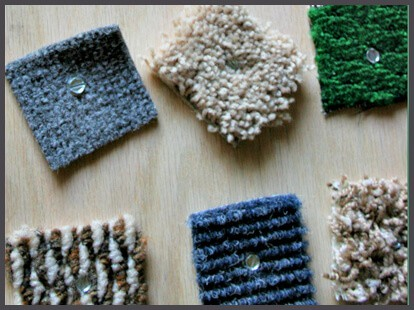 sesnory board carpet scraps to learn teatures