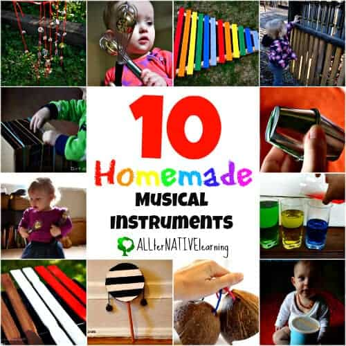 10 homemade musical instruments