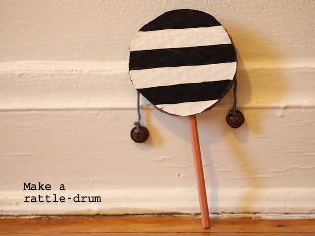 DIY rattle drum 3