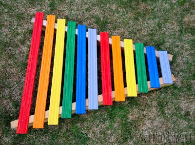 Rainbow Xylophone from AndNextComesL.com