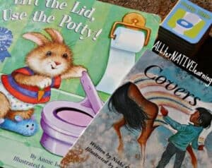 Covers and Lift the Lid Use the Potty books about Lids