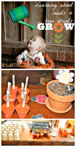 Imaginative Play - Growing like a seed into a plant.