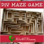 DIY Maze Game using Cardboard Tubes | ALLterNATIVElearning