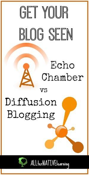Echo Chamber Diffusion Blogging