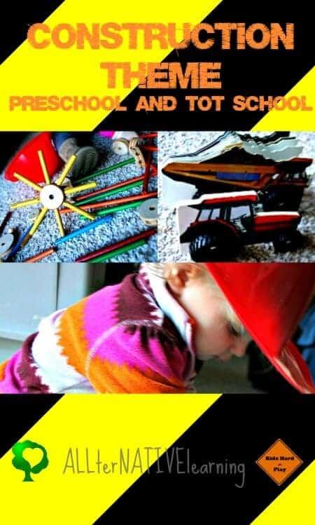 Preschool Construction Theme Cover photo