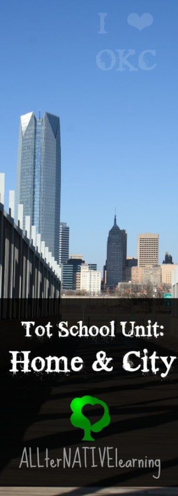 Tot School Unit on Home and City