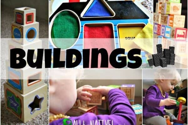 buildings - lesson plans for toddlers