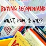 frugal family's guide to buying secondhand at thrift stores