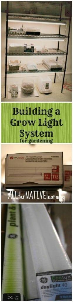 grow lights for gardening