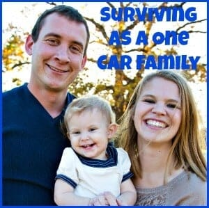 surviving as a one car family