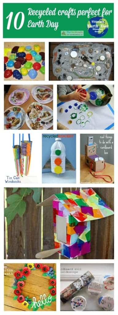 10 recycled crafts perfect for earth day
