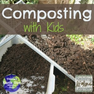 Composting with kids this Earth day and every day