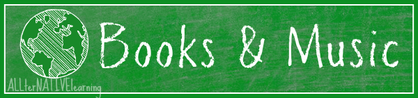 earth day books, music, and other resource banner