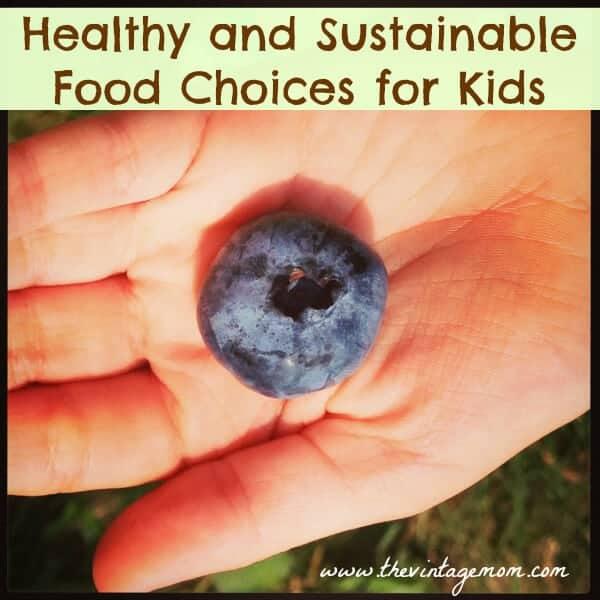 Choosing Sustainable food options