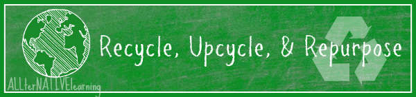 upcycle recycle repurpose this earth day and every day