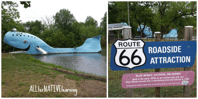 Historic Route 66 Oklahoma - Catoosa Whale