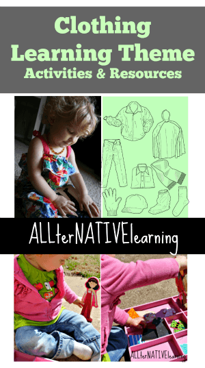 Clothing learning theme cover photo