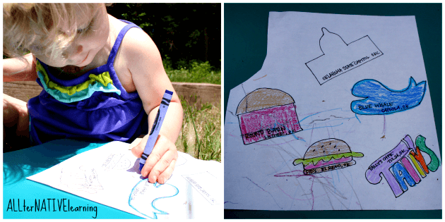 Our 5 route 66 landmarks and how we colored them