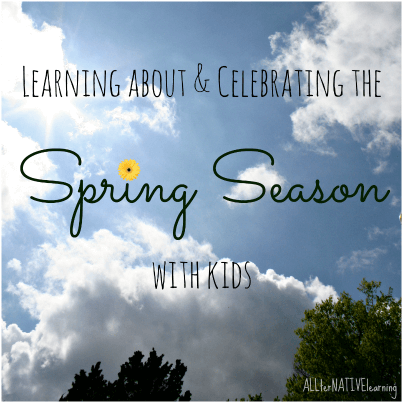 Learning about the spring season | ALLterNATIVElearning.com