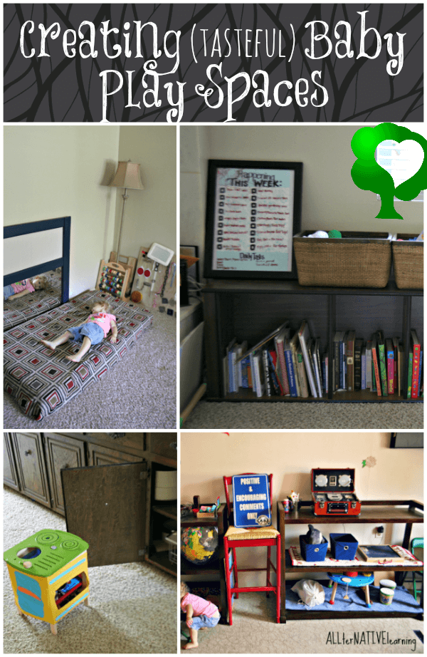 Creating {tasteful} Baby Play Spaces | ALLterNATIVElearning